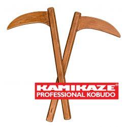 KAMA KAMIKAZE PROFESSIONAL KOBUDO aus Buchenholz, Paar