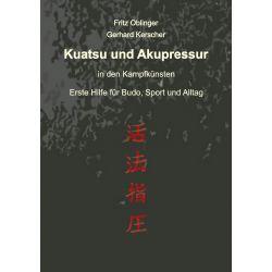 Livro Kuatsu und Akupressur, Fritz Oblinger und Gerhard Kerscher, alemão
