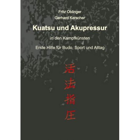 Book Kuatsu und Akupressur, Fritz Oblinger und Gerhard Kerscher, german