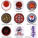 Embroidered badges with your Karate Style
