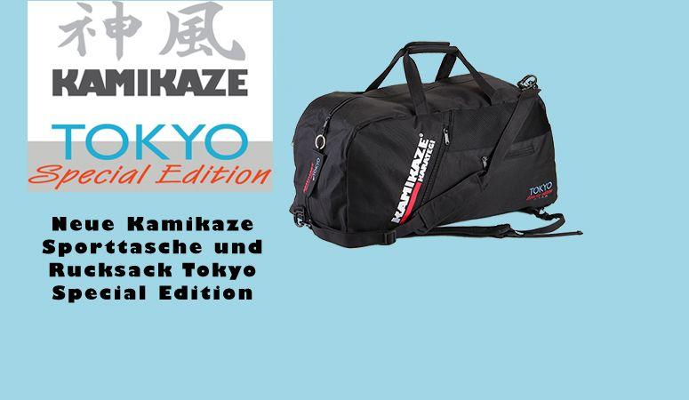 Kamikaze Sporttasche und Rucksack Tokyo Special Edition 2020