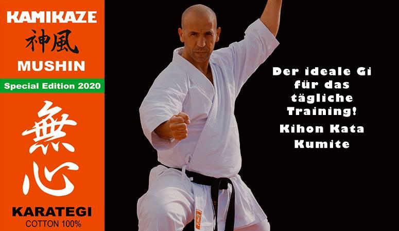 Kamikaze-Karateanzug, Modell MUSHIN - Special Edition 2020