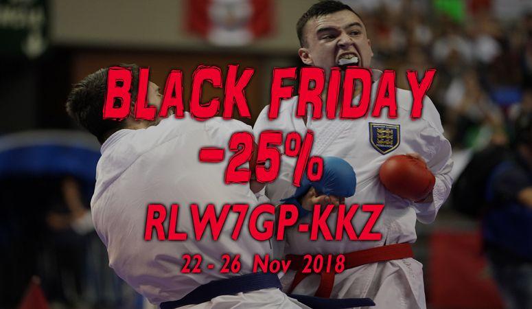 Black Friday Kamikaze 2018 - Rabattcode