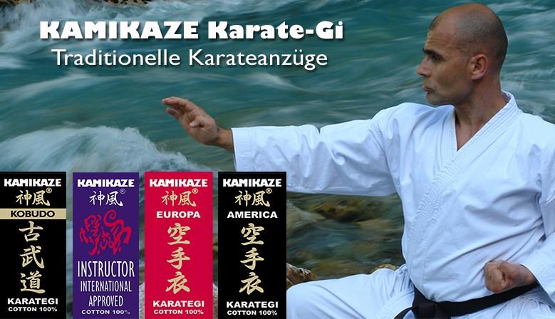 Traditionelle Karateanzüge von Kamikaze