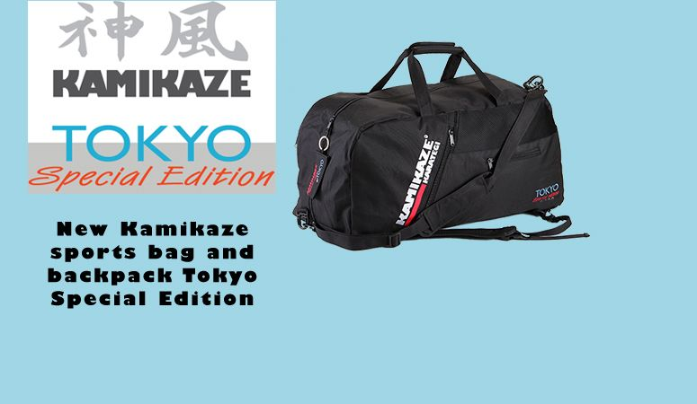 Kamikaze sports bag and backpack Tokyo Special Edition 2020