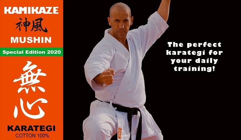 Your online-shop for Karate and Kobudo - Kamikaze Karategi Online Shop