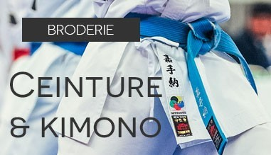 Ceinture e kimonos