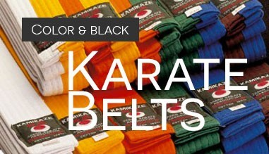 Belts karate, judo