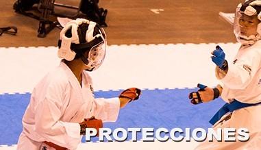 Protecciones karate, judo